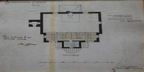 Plan of Gallery